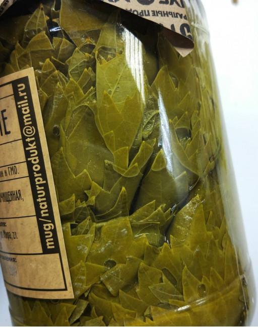 Виноградные листья в рассоле МУГ